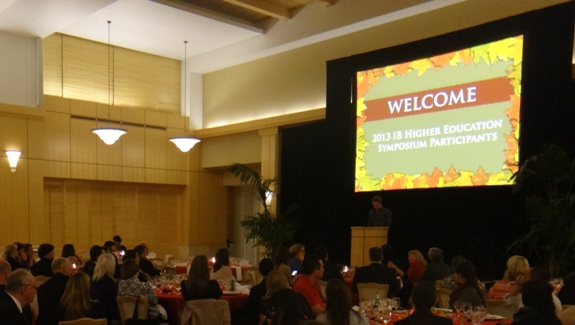 Stanford Higher Education Symposium October 2013