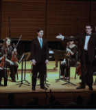 Andrew Abrahamsen performing at Carnegie Hall
