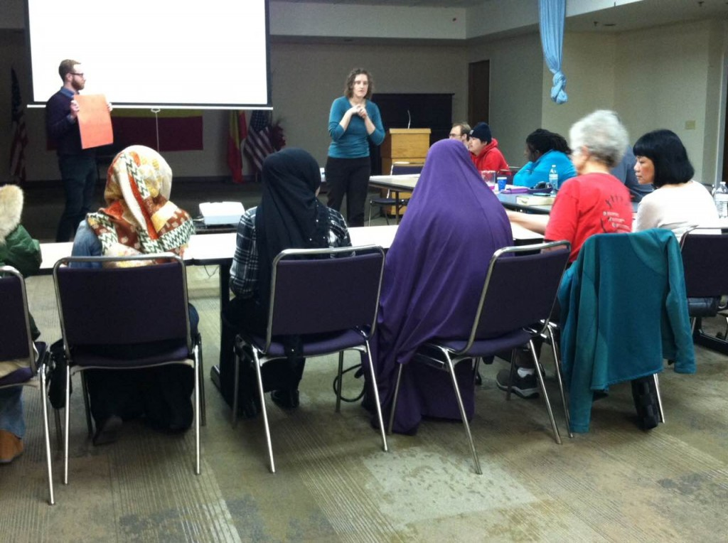 February 2015 Community Cafe was held at the Ethiopian Community Mutual Association in Rainier Beach and featured materials in Amharic with a sample lesson from the IB Biology curriculum.