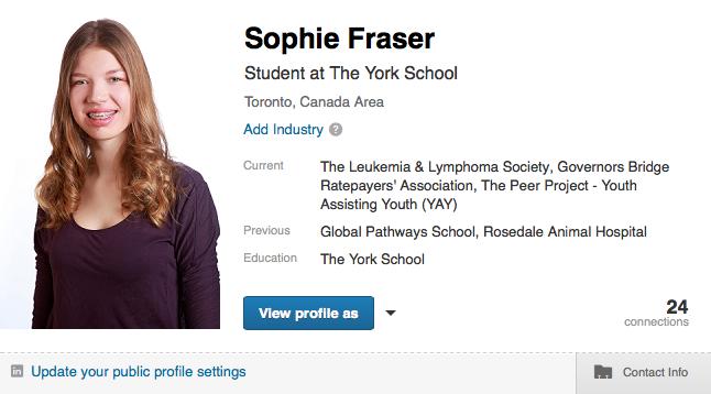Sophie Profile