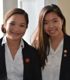 Thanh Thao Truong (left) and Thao Ha