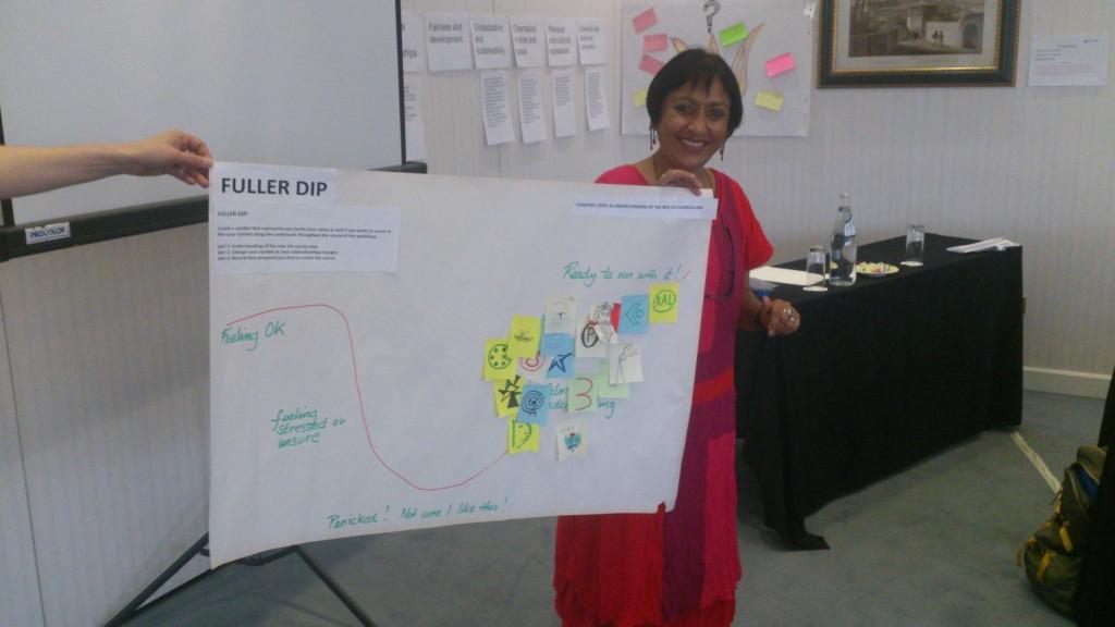 Visual Arts Facilitator Ramila Patal