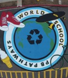 IB schools environment-sonjas mural