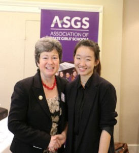 Jenna Jung at the ASGS Conference in the pursuit of happiness optimized