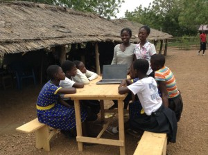 Students from the CIWA Club in Ghana 2 in the pursuit of happiness optimized