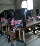 Students from the CIWA Club in Ghana with computers from IWA YCISin the pursuit of happiness optimized