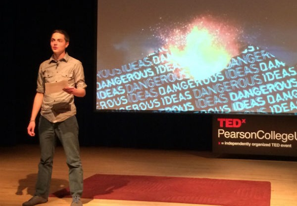 "The TEDx – showing a student organised TEDx event on ""dangerous ideas"" in front of a real community audience"