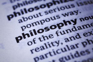 Dictionary word close-up of Philosophy philosophy, worldview, philosophy, poise, sobriety, evenness, sanity, equability, philosophy
