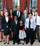 Logan and Obama - Official White House Photo by Lawrence Jackson