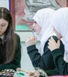 Alumnas de un Colegio del Mundo del IB musulmán de Londres