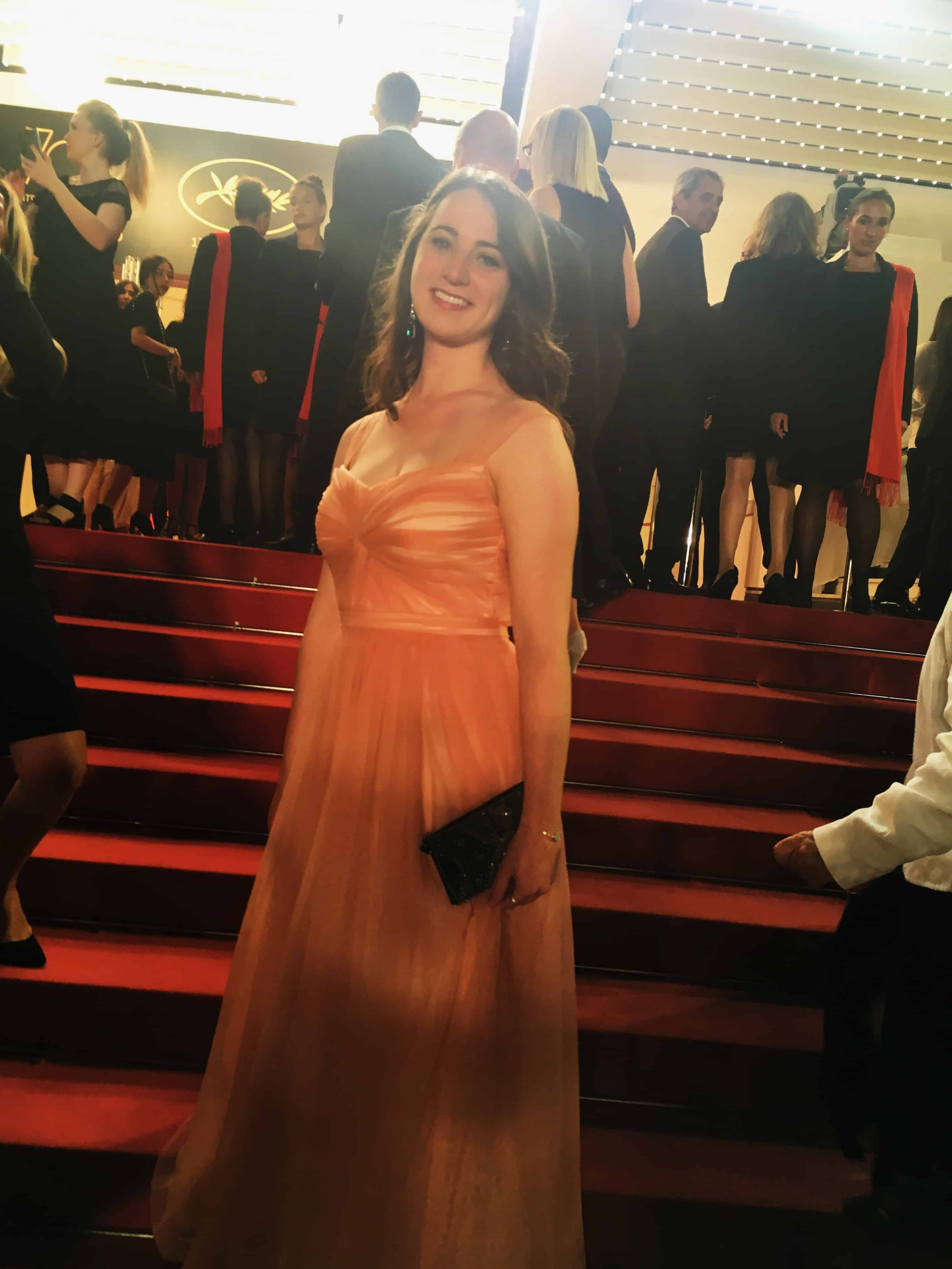 Halley Rose Meslin on the red carpet at the Cannes Film Festival in Cannes,  France. d60f60fd36e7