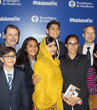 Students from Instituto La Paz meet Malala