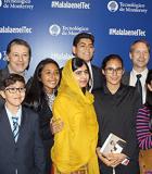 Students from Instituto La Paz meet Malala