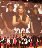 Amadeus International School performing at the IB Global Conference in Vienna October 2018