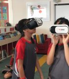 Using Google Expeditions2C IGB International School students share their VR creations with each other