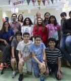 Des élèves et des professionnels de l'éducation du PEI de The KAUST School.