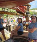 American School of Barcelona DP students aboard theAlnitak's Toftevaag research vessel
