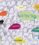 Mixed media illustration of people speaking different languages. Unity. Togetherness