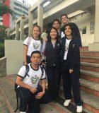Diploma Programme (DP) students from  Unidad Educativa Bilingüe Nueva Semilla