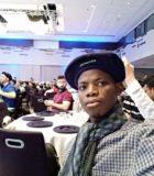 Olalekan Adeeko, docente becado de la Universidad del Pueblo, en el evento #MicrosoftEDU.