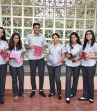 Ziyaan Virji together with his team at the Aga Khan Academy, Mombasa.