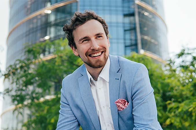 CEO of Skriware Karol Górnowicz.