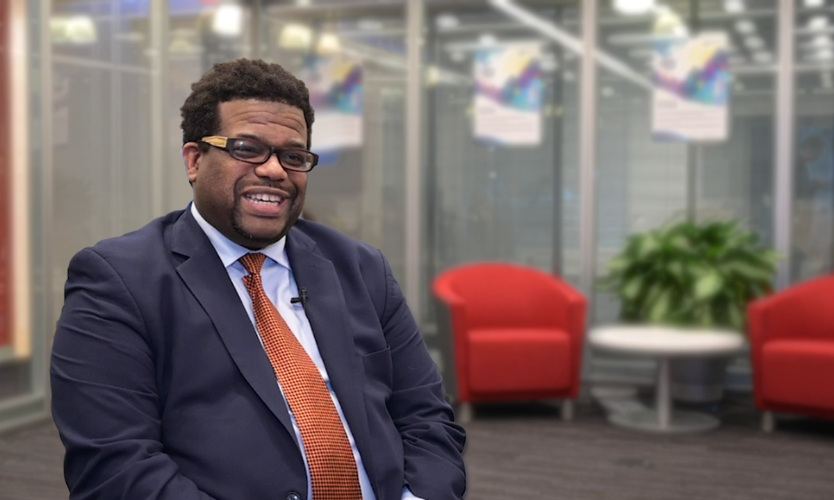 Meet Princeton University's Assistant Director for College Opportunity, Kevin Hudson