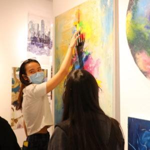 IB Art Exhibition - COVID closure at DCB