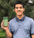Student develops app to stop the spread of COVID-19