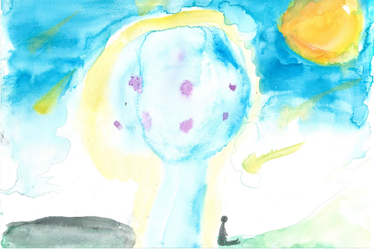 Need inspiring illustrations for your poems? Why not ask children?