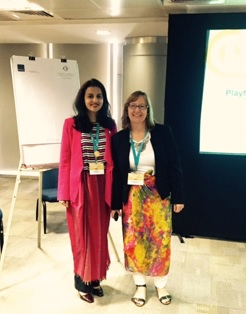 Product Manager Rupal Arora (left) and Head of PYP Professional Development Sue Richards (right)