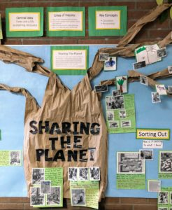 The Living Walls Project: Promoting student-centred learning, inquiry, action and reflection