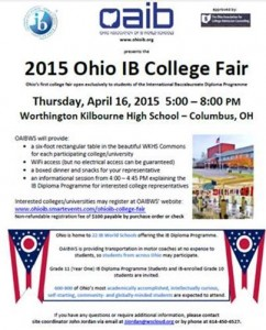 Ohio IB College Fair