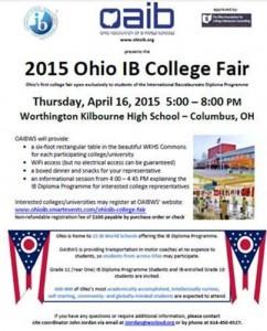 Ohio IB College Fair