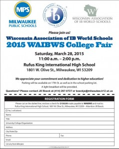 Wisconsin IB College Fair